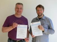 Teilnehmer des ersten Kurses mit CSE-C-Zertifikat