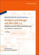 Buchcover Analyse und Design mit der UML