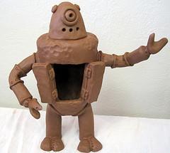 Roboter aus Ton