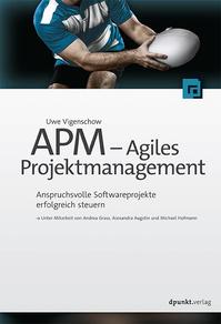 Buchcover Agiles Projektmanagement, U. Vigenschow