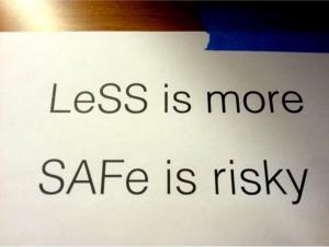 Unterschied zwischen Less und SAFe