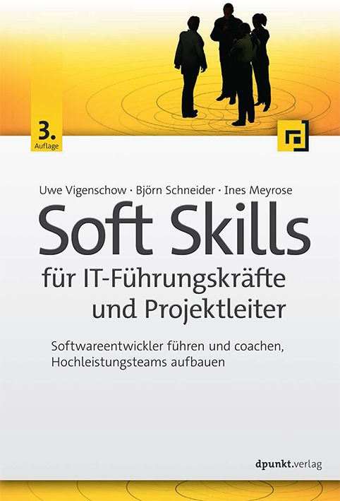Buchcover Soft Skills für IT-Führungskräfte und Projektleiter