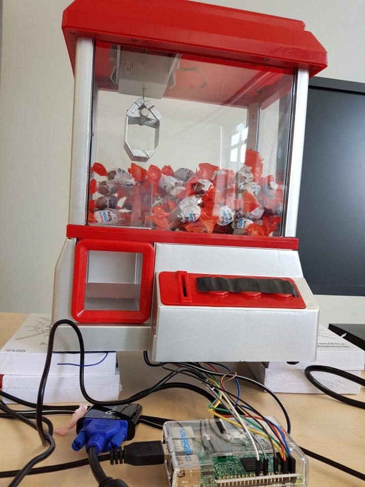 Handysteuerung für einen Süßigkeitenautomaten – oose Innovative ...