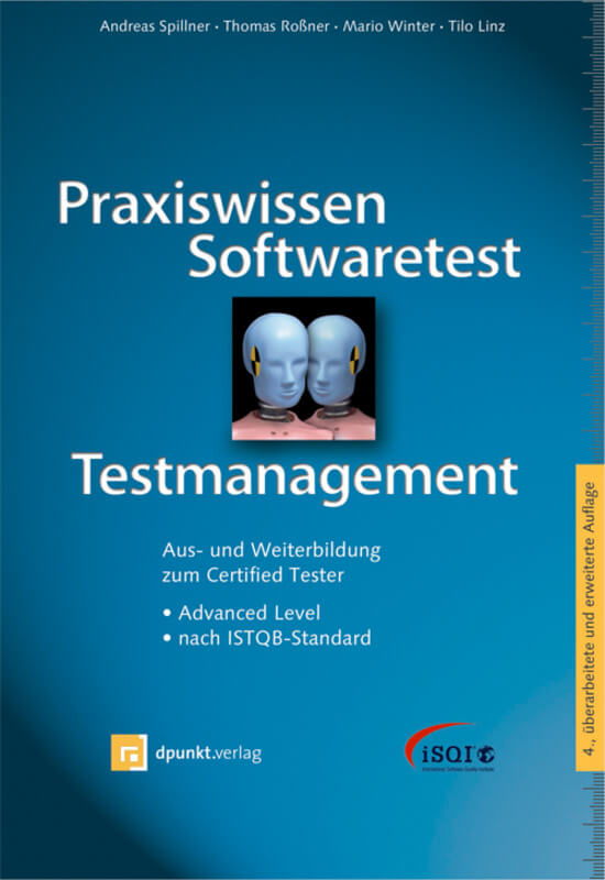 Buchcover Praxiswissen Softwaretest-Testmanagement