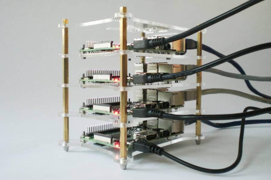 Microservices mit Docker auf einem Raspberry Pi-Cluster