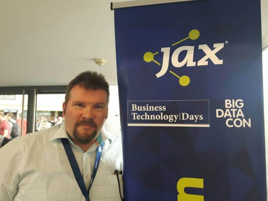 oose-Trainer Georg Haupt bei der JAX 2018
