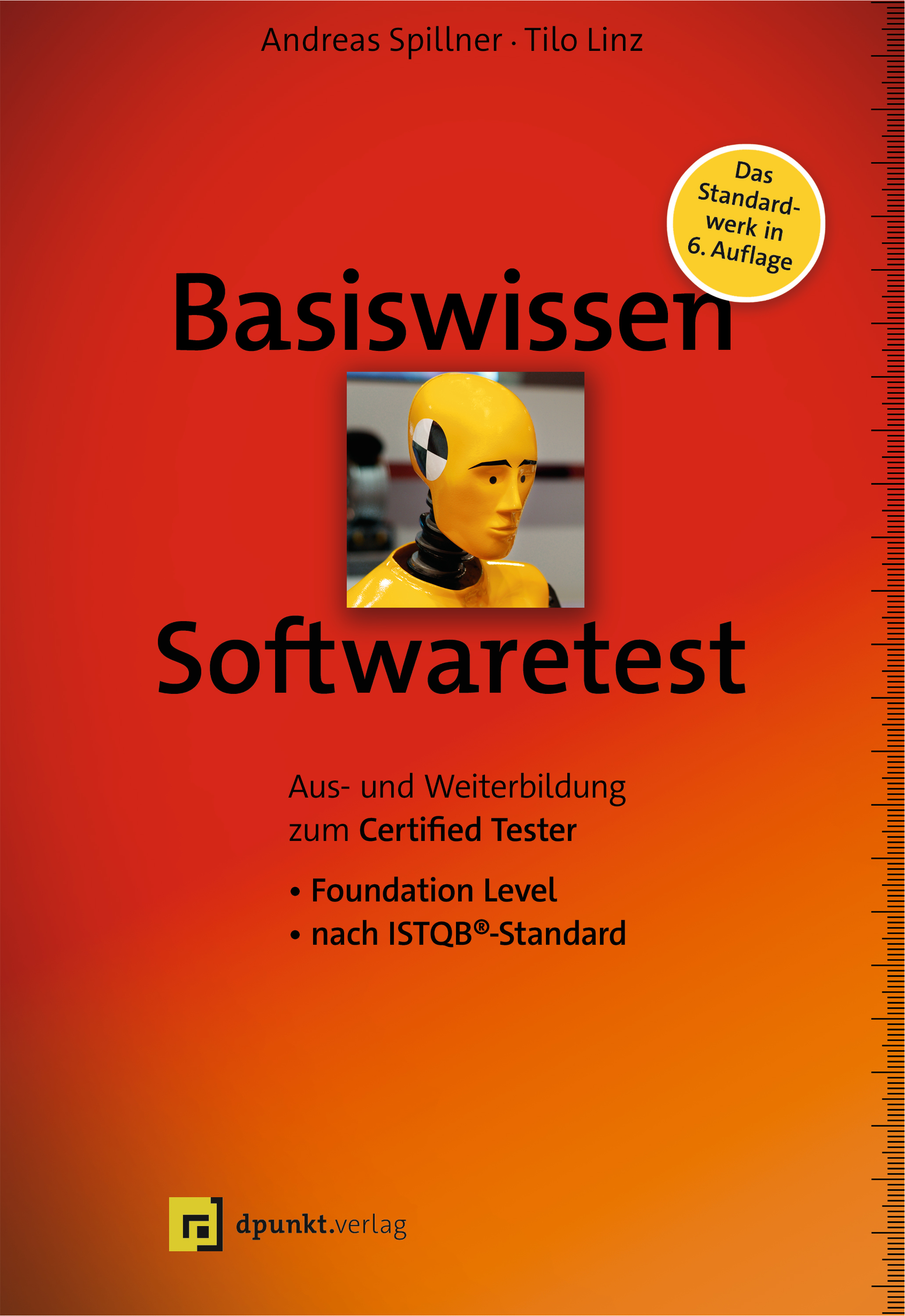 Buchcover Basiswissen Softwaretest