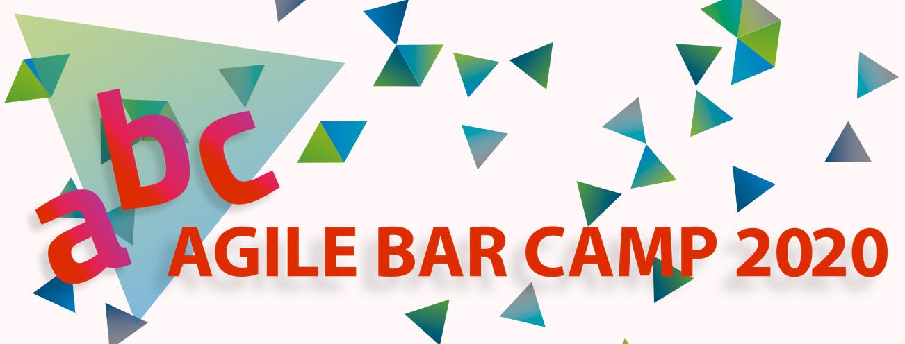 Agile BarCamp 2020 Bloartikel Header-Grafik