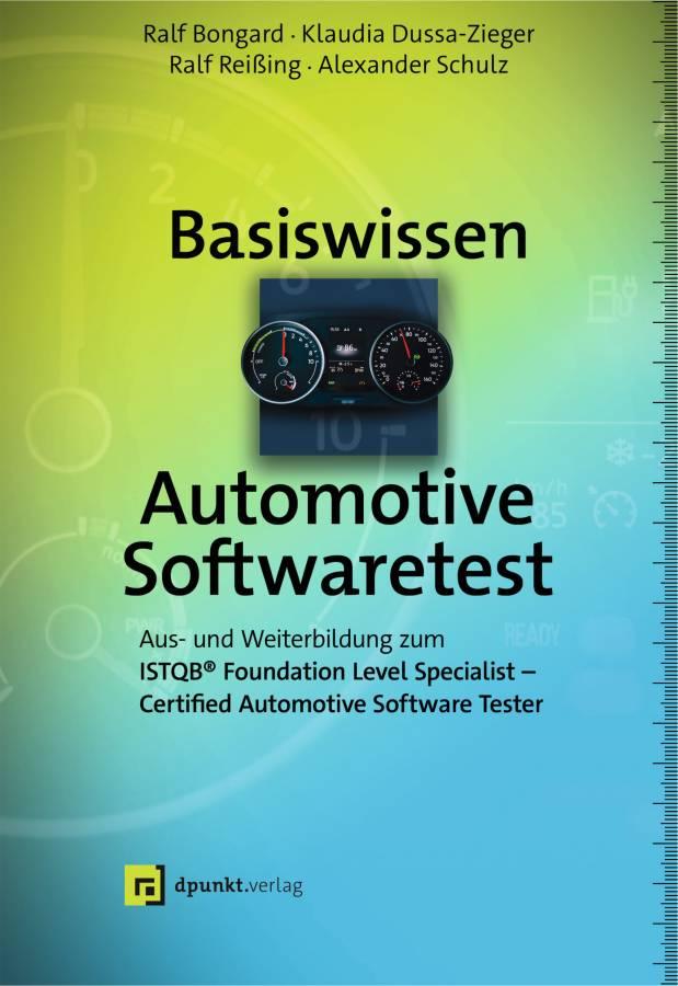 Buchcover Basiswissen Automotive Softwaretest