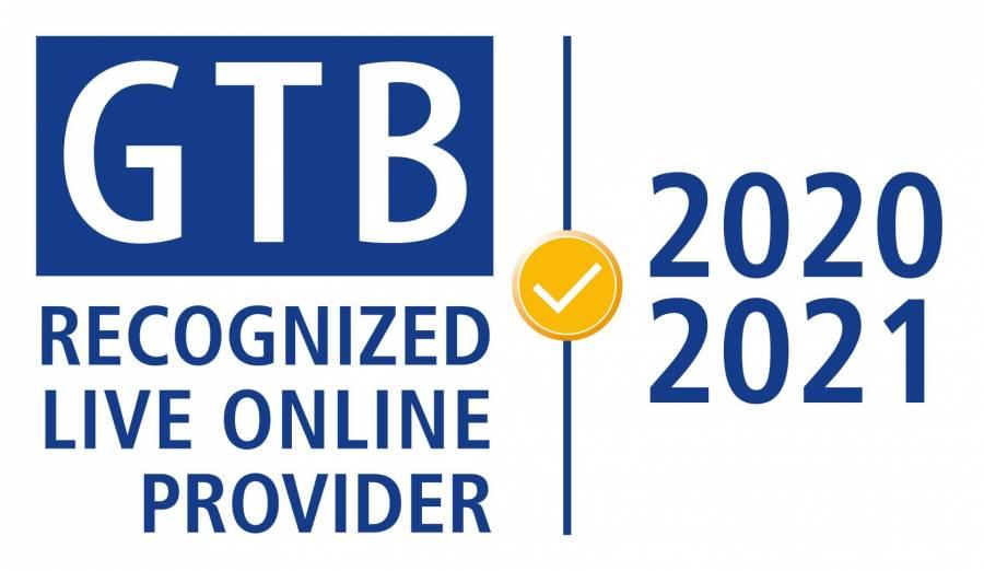 GTB Recognized Live Online Provider